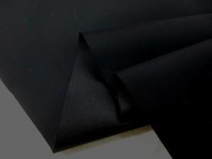 撥水 生地  撥水加工 ナイロン タフタ 黒 158cm幅 [MU1048]