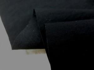 撥水 生地 撥水加工 ナイロン オックスタイプ 黒 128cm幅 [MU1051]