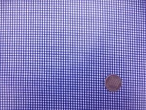 ラミネート 生地 チェック 紺/白 ギンガムチェック ビニルコーティング 112cm幅 [BN552]