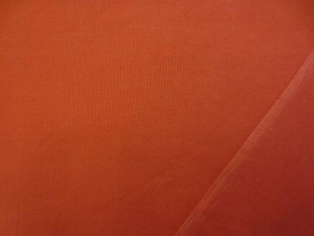 コットン 生地 80 ローン オレンジ 110cm幅 [MU1165]
