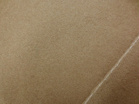 ウール 生地 フラノ キャメル 138cm幅 [WO1257]