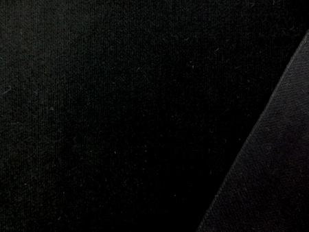 別珍 生地 ベッチン 黒 90cm幅 [KO894]