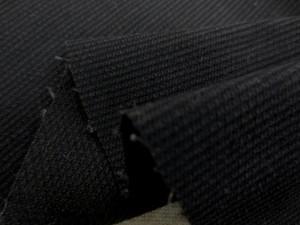 コール天 生地 アンカットコール 黒 112cm幅 [MU967]