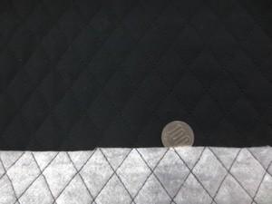 キルト 生地 コットン 黒 キルト 110cm幅 [QT140]