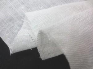 リネン 生地 ヨーロッパリネンタイプ オフ白 洗い加工 130cm幅 [AS1104]