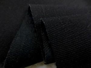 デニム 生地 12オンスデニム 黒(真っ黒) 145cm幅 [DE2030]