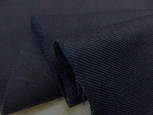 コットン ローンタイプ 生地 綾織り 濃紺 148cm幅 [MU969]