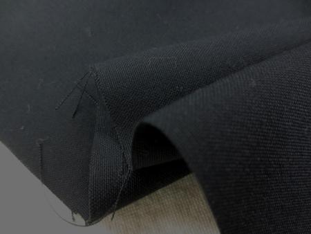 ポリエステル  コットン 生地 濃紺 150cm幅 [MU972]