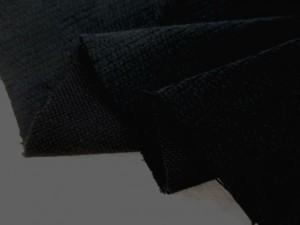 コール天 生地 リブレス コーデュロイ 黒 110cm幅 [KO908]