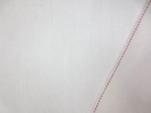 デニム 生地 9オンス セルビッチデニム オフ白 赤耳 78cm幅 [DE2165]