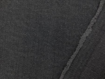 デニム 生地 10オンス デニム ストレッチ グレイ 洗い加工 132cm幅 [DE2168]