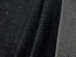 デニム 生地 11オンス セルビッチデニム 濃紺 ピンク耳 81cm幅 [DE2178]