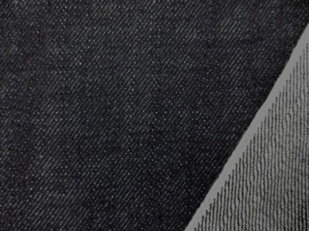 デニム 生地 12オンス セルビッチデニム 濃紺 ピンク耳 81cm幅 [DE2178]