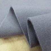 ウール 生地 ウールモッサ パープルグレイ 140cm幅 [WO1259]