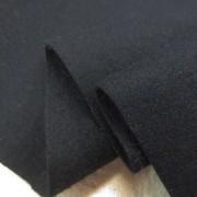 ウール 生地 ウール フラノ 濃紺 150cm幅 [WO1261]