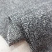 ポリエステル 生地 ウールライク 起毛 杢グレイ 144cm幅 [WO1263]