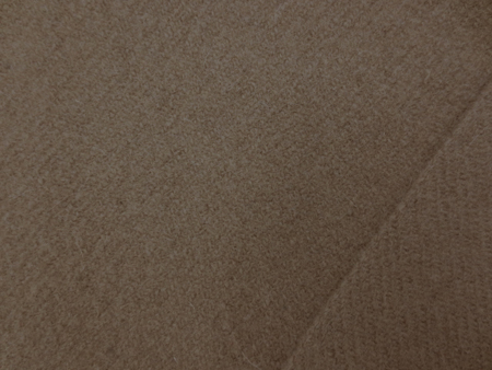ウール 生地 ウール モッサタイプ キャメルブラウン 135cm幅 [WO1206]