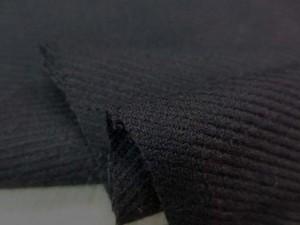 ウール 生地 ウール 綾織 黒 140cm幅 [WO1149]