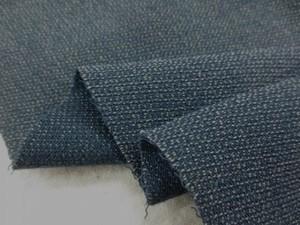 ウール 生地 ウールレーヨン ソフト ダークブルー 148cm幅 [WO1152]