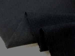 ダブルガーゼ 生地 セラミド加工 保湿加工 黒 108cm幅 [MU1071]