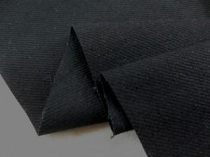 デニム 生地 9オンス ブラックデニム 真っ黒 147cm幅 [DE2045]