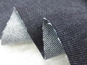 デニム 生地 10オンス ストレッチデニム 濃紺 150cm幅 [DE2049]
