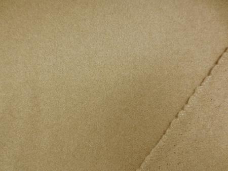 ウール 生地 ウールモッサ キャメル 152mcm幅 [WO1166]