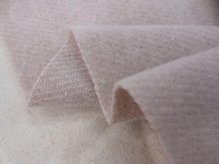 ウール 生地 ウール ライトモッサ スモーキーピンク 135cm幅 [WO1215]