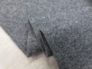 ウール 生地 ラムウール スーパー100 杢グレイ 138cm幅 [WO1219]