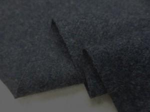 ウール 生地 ラムウール スーパー100 杢ネイビーグレイ 138cm幅 [WO1221]