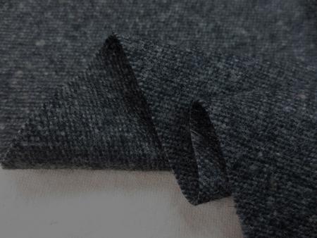 ウール 生地 カラーネップツイード 濃グレイ 138cm幅 [WO1223]