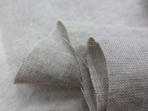 リネン 生地 リネン 生成 麻カラー 115cm幅 [AS1058]