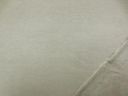 ニット 生地 裏毛 トレーナー地 ベージュ 裏起毛 155cm幅 [JJ1369]