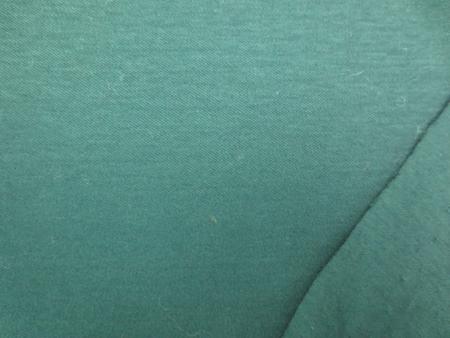 ニット 生地 スムースニット ダークグリーン 155cm幅 [JJ1374]