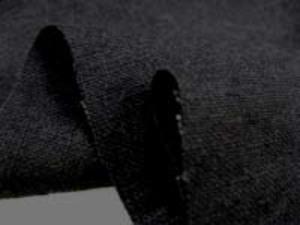リネン 生地 ヨーロッパリネン 洗い加工 黒 [AS461]