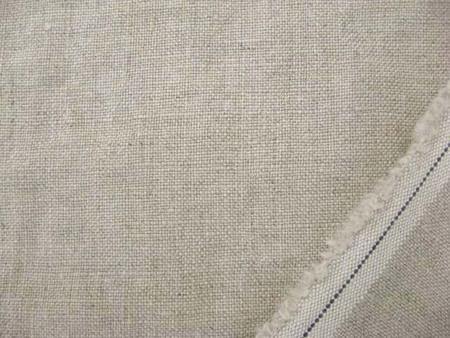 リネン 生地 ヨーロッパリネン 洗い加工 生成麻カラー [AS598]
