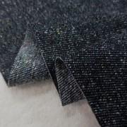 デニム 生地 9オンス カラーネップデニム 黒 152cm幅 [DE2190]