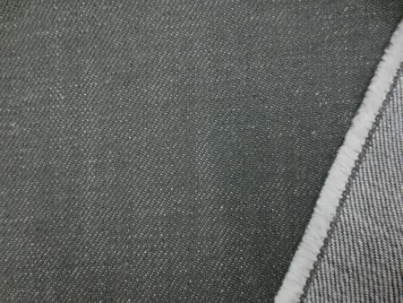 デニム 生地 13オンス デニム カーキ 147cm幅 [DE2195]