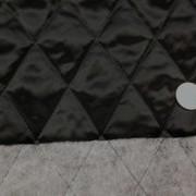 キルト 生地 ポリエステル タフタ キルティング 黒2 120cm幅 [QT125]