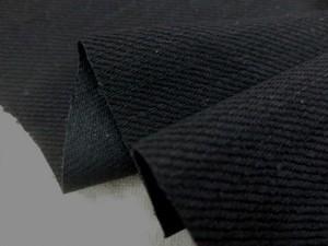 デニム 生地 ブラックデニム 12オンス 真っ黒 152cm幅 [DE2073]