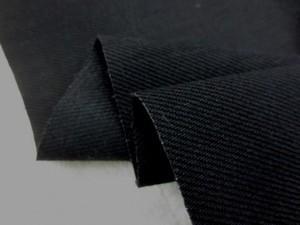 デニム 生地 ブラックデニム 12.5オンス 真っ黒 155cm幅 [DE2075]