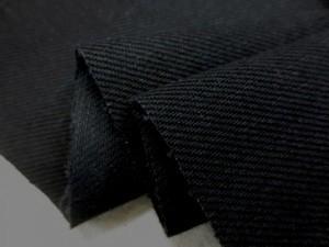 デニム 生地 ブラックデニム 13オンス 真っ黒 152cm幅 [DE2081]