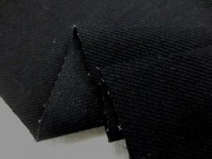 デニム 生地 ストレッチデニム 真っ黒 10オンス 150cm幅 [DE2082]