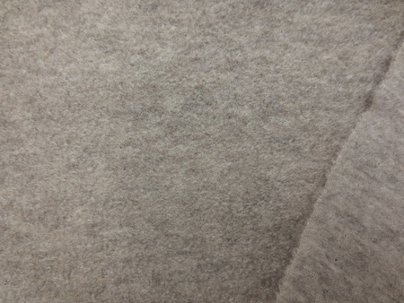 ニット 生地 圧縮ニット ジェームスミルドループ 杢グレージュ 120cm幅 [JJ1470]